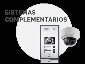 sistemas complementarios citofonía cctv seguridad iluminación